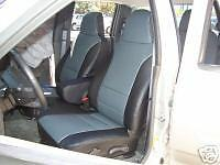 GMC CANYON 2004-2012  LEATHER-LIKE CUSTOM FIT SEAT COVER