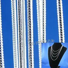 Versilberte Modeschmuck-Halsketten gemischten-Themen