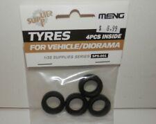 Meng 1:35 Tires for Vehicle / Diorama (4pcs) #SPS-001 NIP