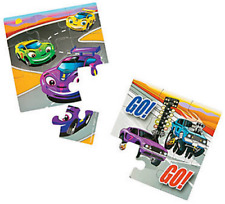 Pack of 12 - Double Sided Race Car Puzzle Cars Racing Party Bag Stocking Fillers