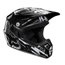 Fox Racing V2 Empire II 2 Off Road MX Helmet Black White XSmall XS