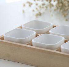 Succulent Plants Fleshy Flower Decorative Square Pot Box Container Garden Plant