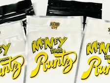 50ct M-BAGG YELLOW EMPTY CANDY BAGS SNACK PACKAGING  *24hr Shipping*