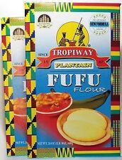 Tropiway Plantain Fufu Flour - 24 oz each ( 2-pack )