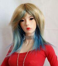 Monique Jojo wig 8/9 for 1/3 BJD SD DZ EID Kaye Dollmore Wiggs Luts Blonde&Blue