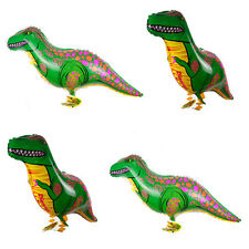 Walking Green Dinosaur Balloons Animal Helium Birthday Kid Children Party Toy .