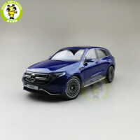 1/18 Mercedes Benz EQC Diecast Car Model Toys Boys Girls Gifts Blue