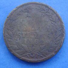 Straits Settlements 1/2 cent  half cent 1862 KM# 5