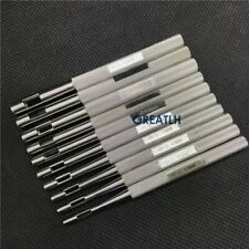10pcs Biopsy Dermal Punch Stainless steel Body Skin Piercing Punches Tools