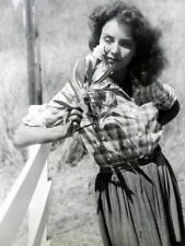 JENNIFER JONES Movie Film 7 x 9 PHOTO Duel In The SUN 1946 Gregory PECK ak1146