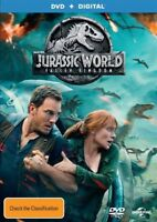 Jurassic World Fallen Kingdom DVD NEW Region 4 Chris Pratt
