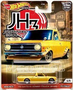 HOT WHEELS 2020 CAR CULTURE JAPAN HISTORIC 3 '75 DATSUN SUNNY TRUCK (B120)