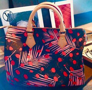 Louis Vuitton Speddy 30 Limitiertes Sondermodel 👜 Handtasche