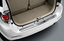 GENUINE PART  STAINLESS REAR BUMPER STEP GUARD FIT FOR TOYOTA FORTUNER ALL MODEL