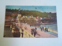 Vintage Postcard DINANT Le Pont Et L'Hotel Des Postes Franked+Stamped 1926 §A331