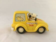 Vintage Aviva Snoopy Taxi Toy Car Friction Hong Kong