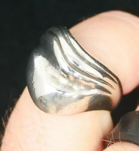 James Avery Wave Style Retired Sterling Silver Ring Size 6.5