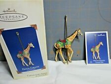 "2005 Hallmark QX2012 "" Proud Giraffe -- Carousel Ride - 2nd""  Ornament"