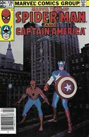 Marvel Team-Up Comic Issue 128 Spider-Man And Captain America Bronze Age 1983
