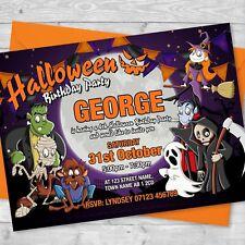 buy halloween birthday invitations ebay