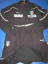 tuta no maglia calcio italia puma size L indossata usata da Bonucci.come nuova
