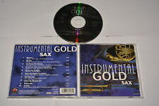 INSTRUMENTAL GOLD SAX - VARIOUS ARTISTS - MUSIC CD RELEASE YEAR:UNKNOW
