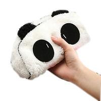 1× Panda Plüsch-Bleistift-Kasten-Feder-Tasche Kosmetik Make-up Bag/Mäppchen K6P7