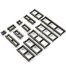 IC Sockets Adaptor SIP Round Solder Gold Plated 6//8//14//16//18//20//28//32//40Pin L1SA