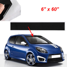 Car Windshield Reflector Vinyl Decal Strip Window Visor Sun Shade Sticker Black