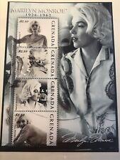Marilyn Monroe Postage Stamp Arch Mint Unused Grenada Nr.B27