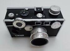 Vintage Argus C3 Range Finder Camera 50mm Lens with Leather Case, Box & Manual