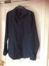 Men's Navy Blue Shirt. From New Look. Size S