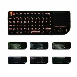 Wireless Keyboard With Touchpad Mouse 3 In 1 For Laptop Smart Tv Box Handheld