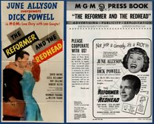 REFORMER AND THE REDHEAD  Pressbook AND 3 SHEET POSTER, MGM, June Allyson