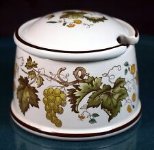 Wedgwood Vine (Croft) Small Mustard Pot - 1st Quality - Excellent Condition