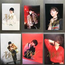 "Signed Hua Chenyu's Autographed Photo 华晨宇Huahua photo 6"" Gift Card 1 PC Random"
