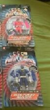 1996 bandai power rangers TURBO SET OF 2 PINK AND BLUE