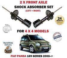 Per FIAT PANDA 1.2 1.3d 4x4 modelli 2003-2012 2x ANTERIORE AMMORTIZZATORE Shocker Set