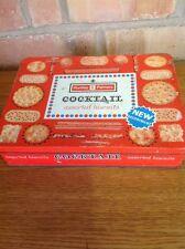 Vintage Huntley & Palmers Biscuit Tin Cocktail Retro