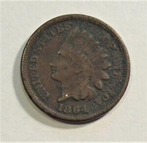 1864 (Bronze) Indian Head Penny