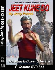 Jerry Poteet Martial Arts Jeet Kune Do Bruce Lee Jun Fan 6 Dvd Training Set