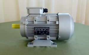 RARITY!........     110V, 3-Phase, 3 HP Electric Motor, 2800 RPM, Aluminum Frame