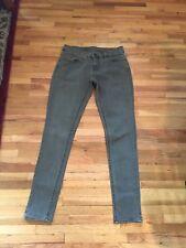 NWOT Womens BKE Denim PAYTON Straight Leg Jeans Army Green 27 x 31