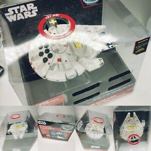 Star Wars Disney The Force Awakens Millennium Falcon Light Up Alarm Clock