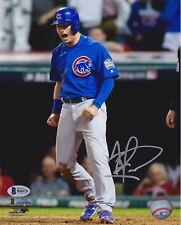 Albert Almora Jr. Signed 8x10 Cubs World Series Photo - Scream Beckett BAS