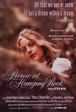 PICNIC AT HANGING ROCK Movie POSTER 27x40 Rachel Roberts Vivean Gray Helen Morse