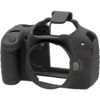 easyCover Protective Silicon Skin Camera Cover f/ Canon Rebel T2i / 550D (Black)