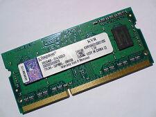 2GB DDR3-1066 PC3-8500 Kingston KVR1066D3S8S7/2G LAPTOP SODIMM RAM MEMORY