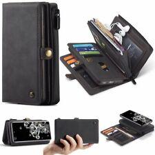Newest CaseMe Magnetic Detachable 2-in-1 Zipper Wallet Cell Phones Case Cover
