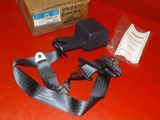 NOS GM 1994-1997 Chevrolet Prizm rear seat belt assembly 94855331 Grey